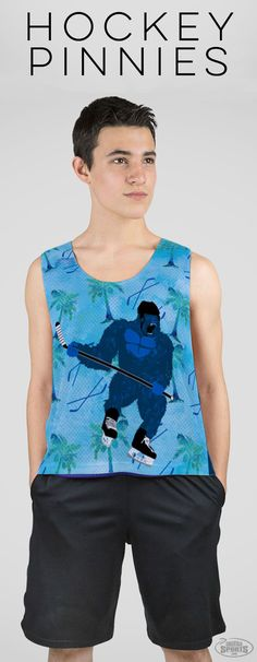 Hockey pinnies with