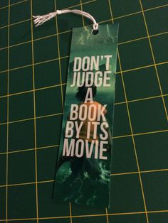 Seriously. The movies stink and the books are awesome.
