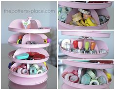 washi tape storage and other great ideas for storage!