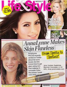 Jane Iredale makeup used by celebs too!