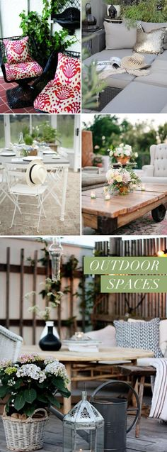 5 ways to spruce up your outdoor space this spring.