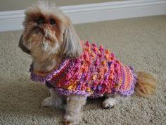 Doggie Sweater - Free Crochet Pattern: