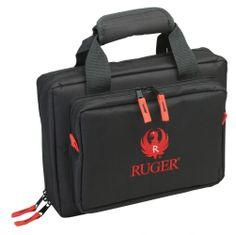 Allen Ruger 2 Handgun Attache Case w/ 8 interior mag pockets at http://www.exploreproducts.com/allen-ruger-duoplex-handgun-attache-gun-case-27435.htm