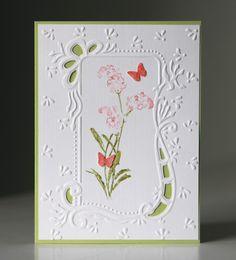 Marianne design embossing folder