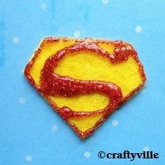 Love superman? You'll love these cool superman crafts. How to make a superman magnet. Make a superman pillow, superman tshirt, superman costume...