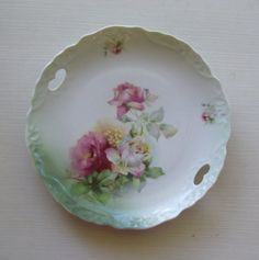Vintage Large China Dinner Plate With Hand by devatreasures, $18.00