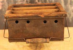 1700's tin carriage foot warmer