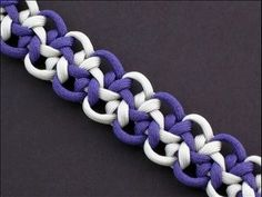 How to Make an Optic Star Bar (Paracord) Bracelet by TIAT - YouTube