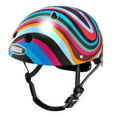Coolest bike helmets for kids on Cool Mom Picks: Nutcase swirl helmet