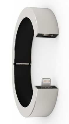 The QBracelet looks like a stylish piece of wrist candy, but is in fact a portable charger capable of delivering juice to your iPhone or Android device.