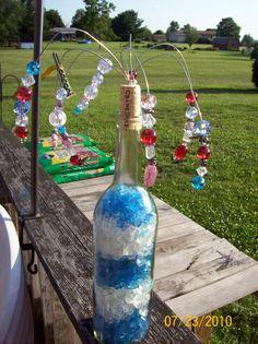 beaded garden sparkler