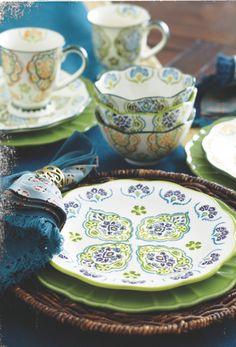 Plum Inverness Dinnerware Collection at Cost Plus World Market #WorldMarket Glasgow Fog Collection