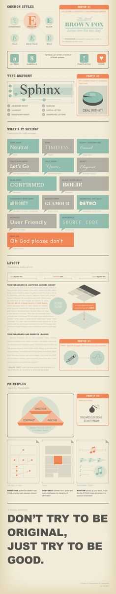 Typography Infographic