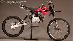 Motoped Motorized Bicycle First Look - Motorcycle USA