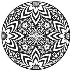 Mandala Coloring Pages PDF | Mandala Coloring Page, Instant PDF Download, Printable Coloring Page ...