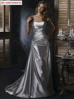 silver wedding dress Wedding Dressses, Party Dresses, Dream, Color, Brides, Dress Wedding, Gown, Bride Dresses, Silver Weddings