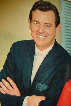 """Actor DAVID JANSSEN ~ start of the 50s TV series """"The Fugitive"""""""