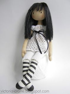 FREE Girl Doll Sewing Pattern
