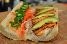 Awesome Vegan Tofu Banh Mi