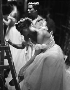 Backstage, Mariinsky Theater, St. Petersburg by Mark Olich