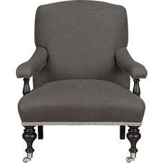 grey chair.