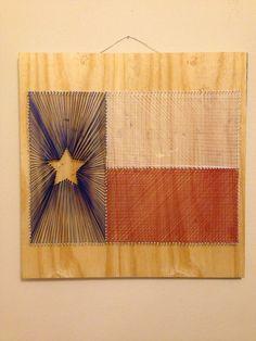 Texas String Art.