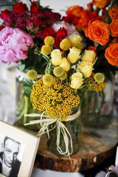 colorful florals.