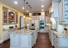 The Birchwood - 1239. New kitchen photo! http://www.dongardner.com/plan_details.aspx?pid=3751. #Gourmet #Kitchen #HomePlan