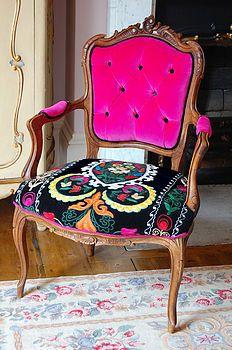 Gorgeous decor, dinner parti, hous, armchairs, desk chair, furnitur, couches, bright colors, django armchair