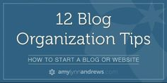 blog-organization