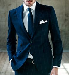 Rose & Born Navy Suit  So awesome.