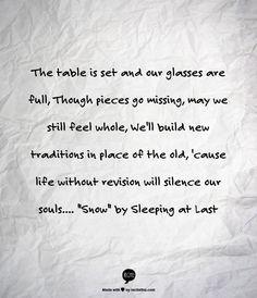 woodwork lyrics sleeping at last