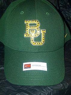 #Baylor University Rhinestone Hat