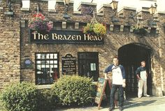 "Brazen Head, Oldest pub in Dublin - Ireland --I Met the nicest ""Solicitors""  on vacation here, had drinks and then dinner upstairs. Watch out for the uneven floors and low ceilings :)"
