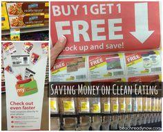 Saving Money on Clean Eating