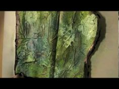▶ Art Journaling with Dylusions Inks and Gesso - YouTube
