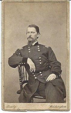 Civil War CDV Major General Winfield Scott Hancock by Brady.