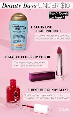 Best drugstore beauty buys!