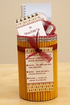 More teacher gifts.