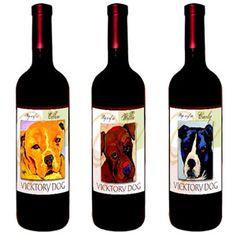 Dog Lovers Wine Club: Sales support animal rescue centers and shelters. Charity, giving back, MSPCA