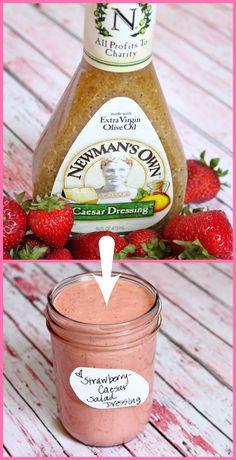 Strawberry Caesar Salad Dressing