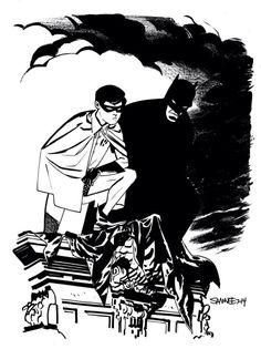 Today on the blog: Batman & Robin!   http://www.chrissamnee.com pic.twitter.com/d4OEyGJhZS