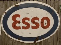 Old Esso gas station signs by jefftowell, via Flickr