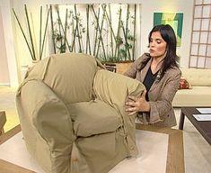 Fundas de sofa on pinterest sofas soft light and berets - Como hacer fundas para sofas ...