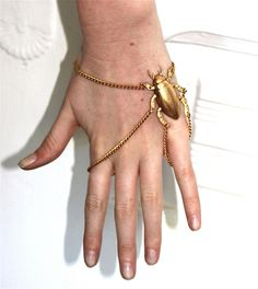 beetle jewelry from Litter