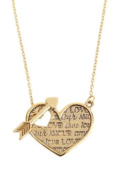 Amour Necklace  by Foxy Originals