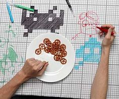 Draw On Tablecloth