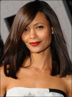 If I was going to cut my hair... This is it! Long bob with tapered side bangs