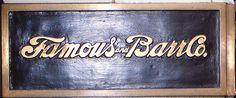 St Louis, MO Famous-Barr sign