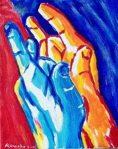 """""""ILY""""  nancyrourke.com, Deaf & ASL art"""